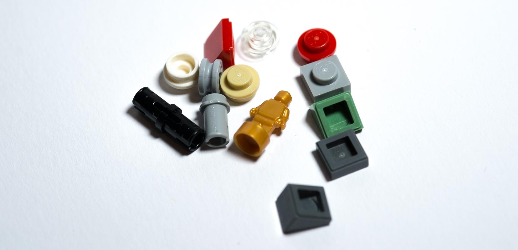 lego berlin architecture set spare parts