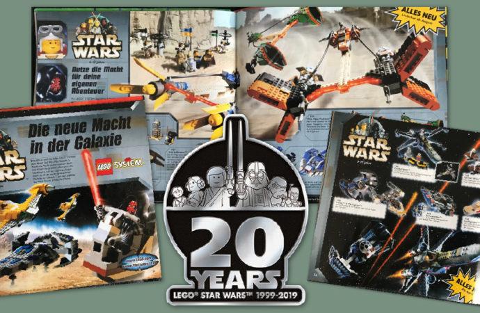 Die 20-Jahres-Challenge: Lego Star Wars im Wandel