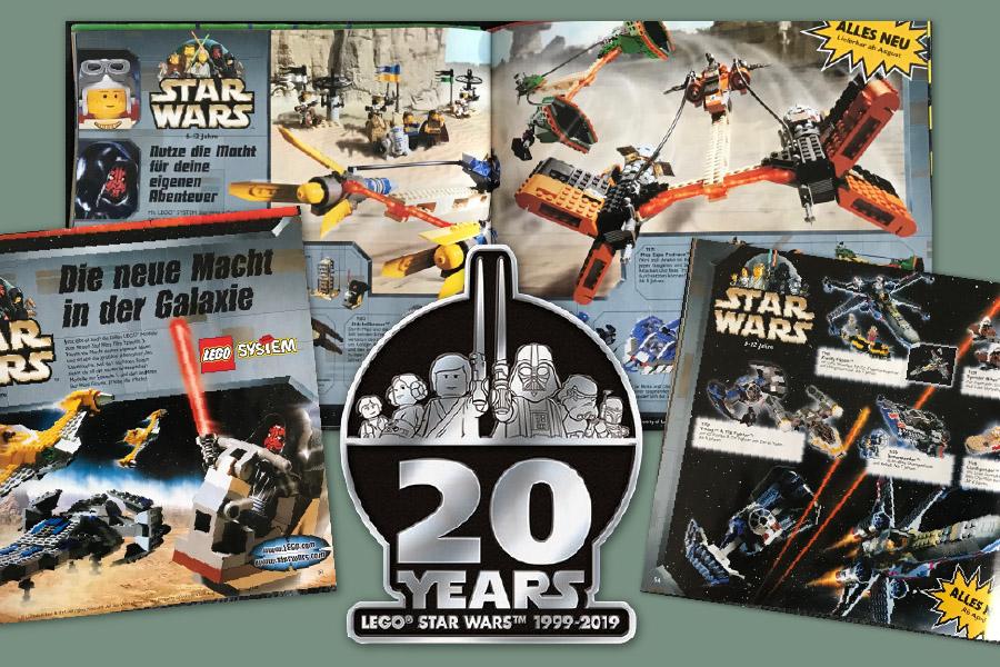 Die 20-Jahres-Challenge: Lego Star Wars im Wandel – Brickitdown