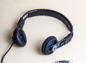 Ein Kopfhörer aus Reifen