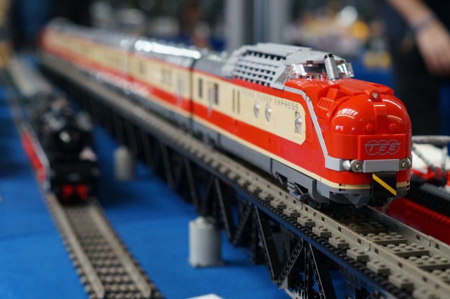 Coburger Modellbahntage Lego Zug