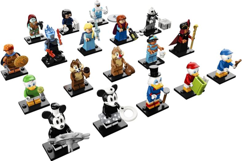 Lego Collectible Minifigures: Disney die Zweite