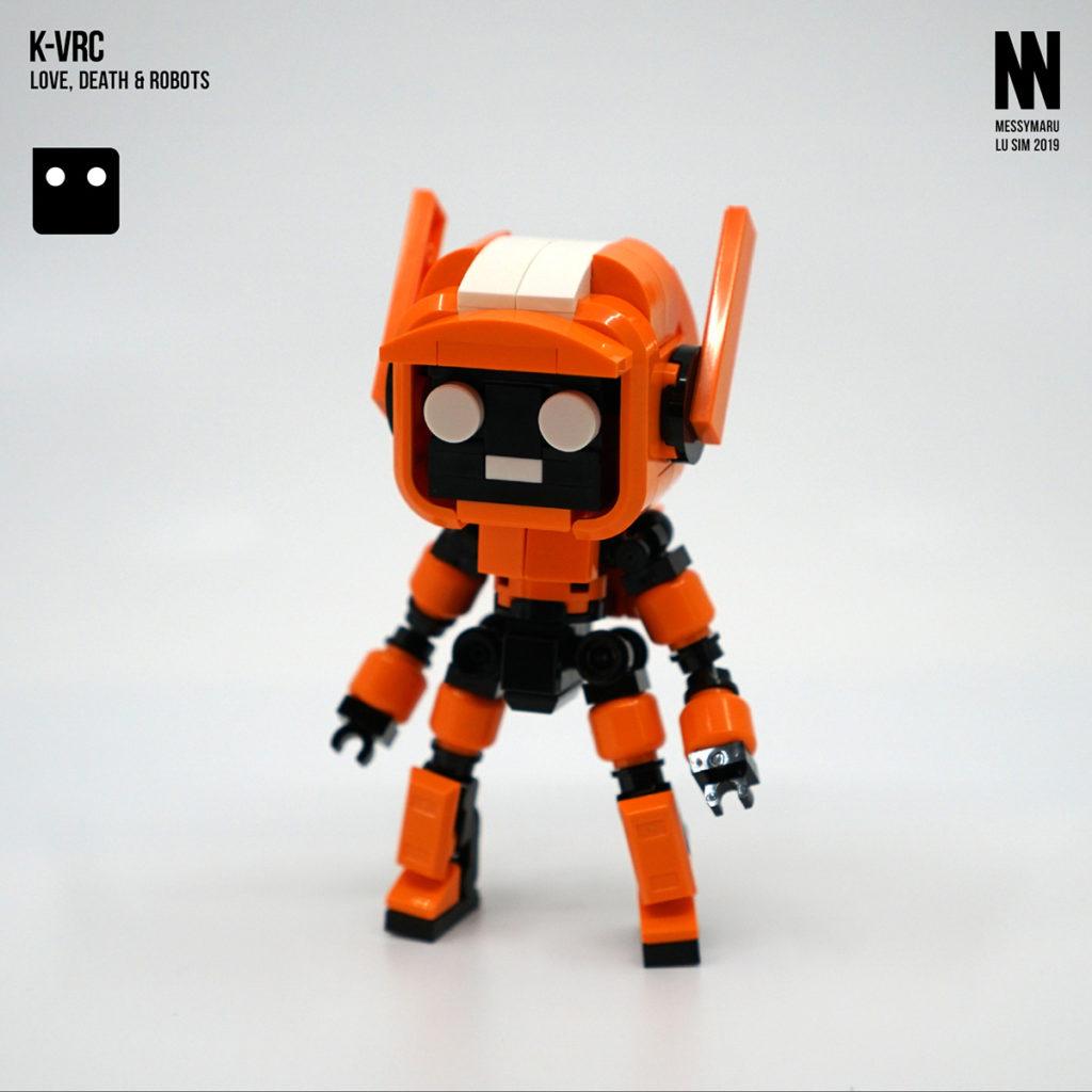 Love, Death + Robots | K-VRC | © Lu Sim