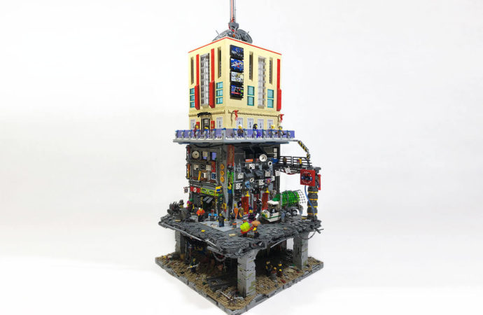Layers City: Lego-Cyberpunk vom Feinsten!