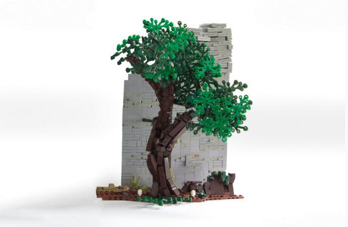 So baust du einen natürlich wirkenden Lego-Baum